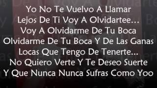 Prometo Olvidarte (Official Remix) - Tony Dize Ft. Yandel (Letra)