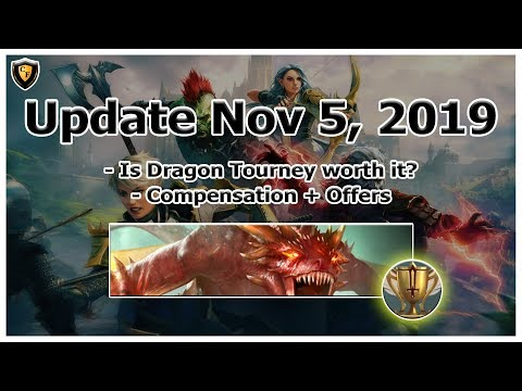 RAID Shadow Legends | Update Nov 5, 2019 | Dragon Tournament + Misc