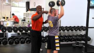 Shoulder Press, Reverse Fly - Coach Carter