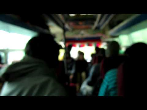 Bumpy Bus Ride in Nepal