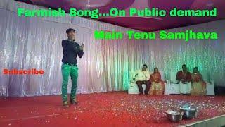 Main tenu samjhava ki | Live Performance | Arijit Singh | Cover |  Shubham Sharma