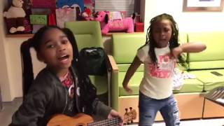 #KiDGOALSs CHECK OUT J'DEN & HEAVEN SKIT LOL