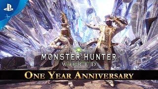 Monster Hunter: World - One Year Anniversary Celebration   PS4