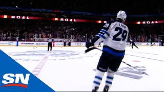 """""""Hat-Trick"""" Laine Gets Finnish Crowd On Its Feet"""