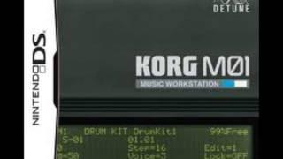Daft Punk - Instant crush / Cover on Nintendo DS Korg M01 Workstation