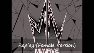Replay (Female Version) - MYNAME [Lyrics in Description Box]