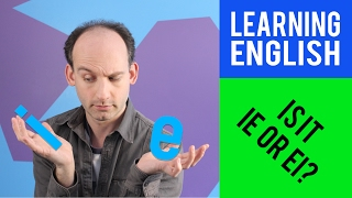 "Learning English: ""ie"" or ""ei""?"
