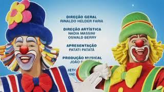 Créditos DVD Patati Patatá Volta Ao Mundo (2010)