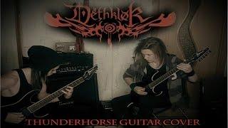 Dethklok - Thunderhorse guitar cover (both part's)