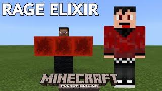 How to summon Rage Elixir in Minecraft Pocket Edition