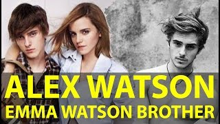 Emma Watson brother Alex Watson look how handsome he is! [HD]