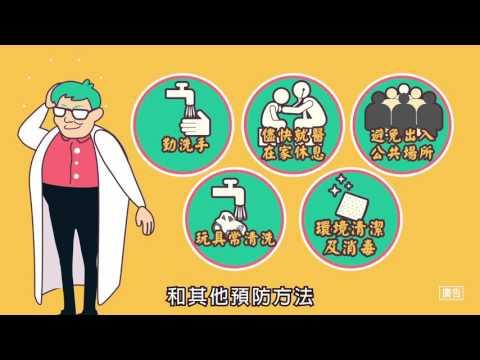腸病毒宣導動畫 (30秒) - YouTube