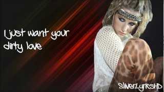 Ke$ha Ft. Iggy Pop - Dirty Love - Lyrics