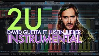 🔥 2U - David Guetta ft Justin Bieber Official Instrumental remake by DC Productions