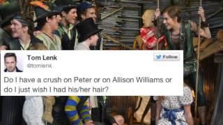 Twitter Pokes Fun at Christopher Walken in 'Peter Pan Live'