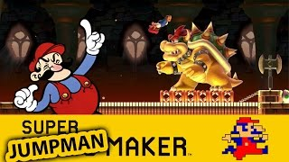 Super Mario Maker : JUMP TO WIN! Jumpman challenge 01