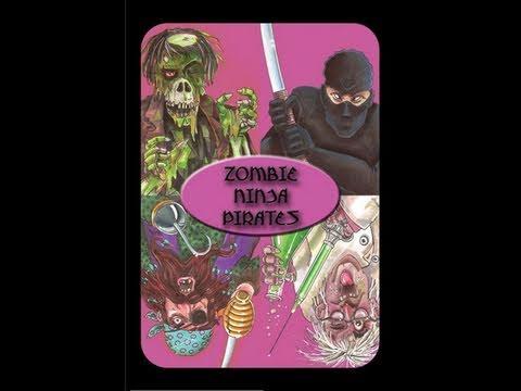 Zombie Ninja Pirates Card Game