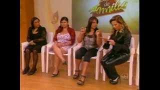 Christina Rocha in leather pants 1 / calça de couro
