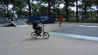 BMX Michigan overstall on Spine to rollback