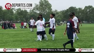 Estrella Blanca gana por abandono de cancha del Douglas Boys Liga Douglas