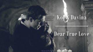 ►Davina & Kol    Dear True Love {+3x21}