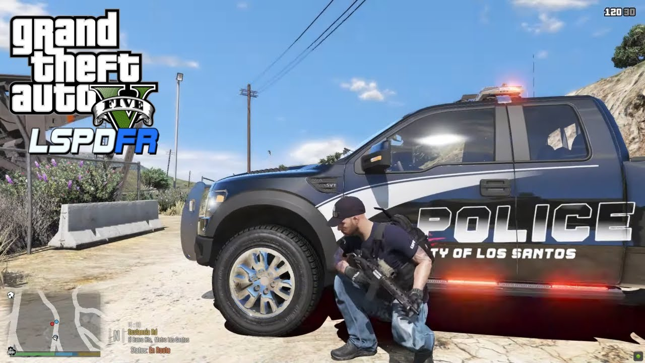 BenzoGaming - Officer Pressed Panic Button - F150 Raptor - GTA 5 LSPDFR 0.4.8