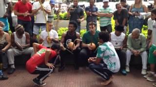 Roda de capoeira na Praca da Republica 24.01.2016 parte 7