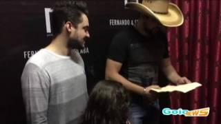 O emocionante encontro de Fernando & Sorocaba com fã mirim