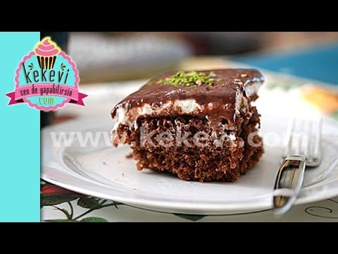 Ağlayan Kek / Pasta Tarifi (4 dakikada tüm tarif)
