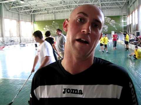 Mike on development of Floorball in Ukraine!
