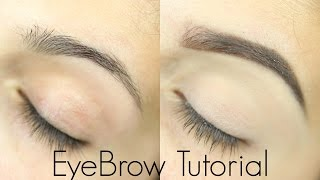 Eyebrow Tutorial for Beginners width=