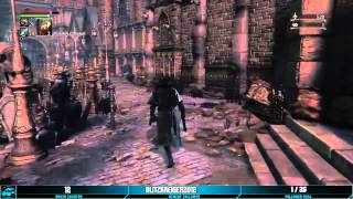 Enemies of Bloodborne have really Quiet Footsteps.