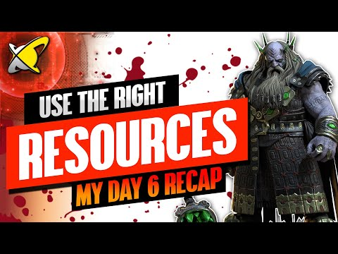 HOW I USE MY SAVED RESOURCES | Underpriest Brogni Day 6 Recap | BGE's Guides | RAID: Shadow Legends