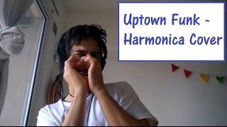 Uptown Funk - Mariano Garcia del Rio (Bruno Mars/Mark Ronson Diatonic Harmonica Cover)