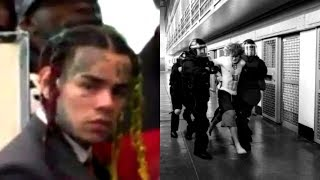 6ix9ine Cause Uproar With Inmates at New Jail They're Pissed at Him