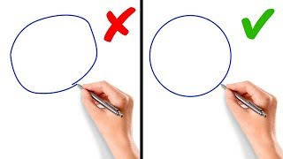 5 Hacks to Draw a Perfect Circle without Compass