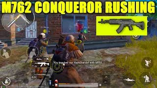 I was Stuck Alone But this Gun is a BEAST !! | Pubg Mobile Conqueror Asia