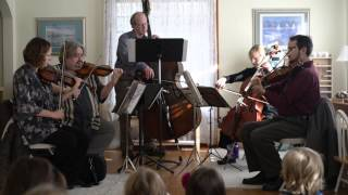 South Bend Symphony Quintet At Countryside Montessori School