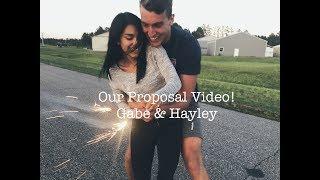 Proposal Video!   Gabe & Hayley