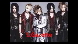 Cool! JAPAN ROCK TOP10 聞くべし! Visual~HeavyRock