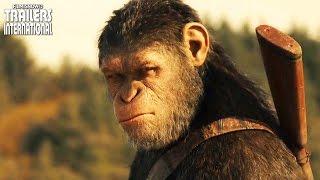 Planeta dos Macacos: A Guerra   Primeiro Trailer Legendado [HD]
