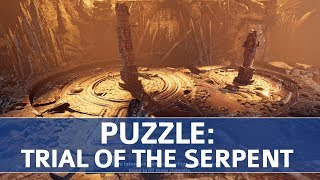 Shadow of the Tomb Raider - Trial of the Serpent Puzzle Walkthrough