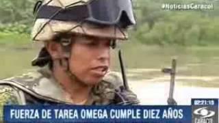 Fuerza de Tarea Omega cumple 10 años