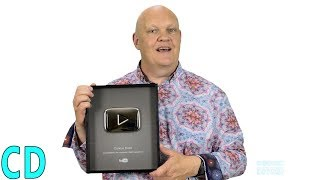 100,000 Subscribers Youtube Silver Play Button for Curious Droid 😀