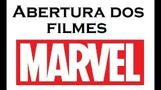 Nova abertura dos filmes da Marvel Studios