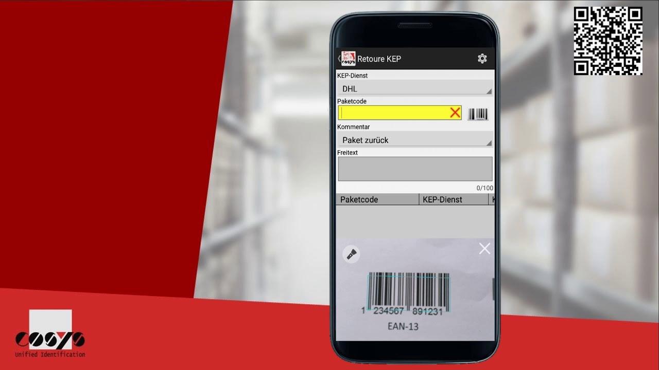 KEP Retoure agiler Ablauf mit Android | COSYS Pakettransport