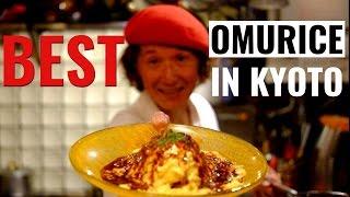 Youshokuya Kichi Kichi Omurice in Kyoto, Japan