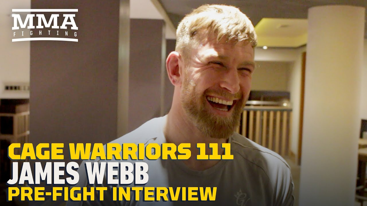 James Webb to Carry Irish Tricolor at Cage Warriors 111