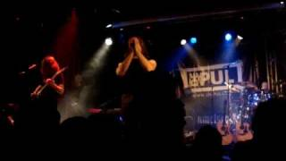 Damian Wilson Band live at De Pul Uden. Ayreon´s Into The Black Hole