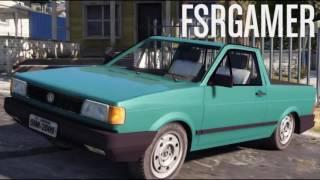 GTA V Mods - Carros Brasileiros / Carpack